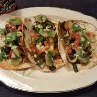 Kiwi Fish tacos