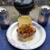 Simple mans tuna steak sandwich