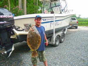 Sea hawk flounder tournament 1st place!
