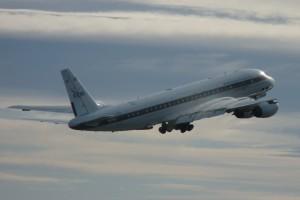 The NASA DC8 flying Labratory