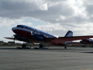 An old DC3 headed to Antarctica